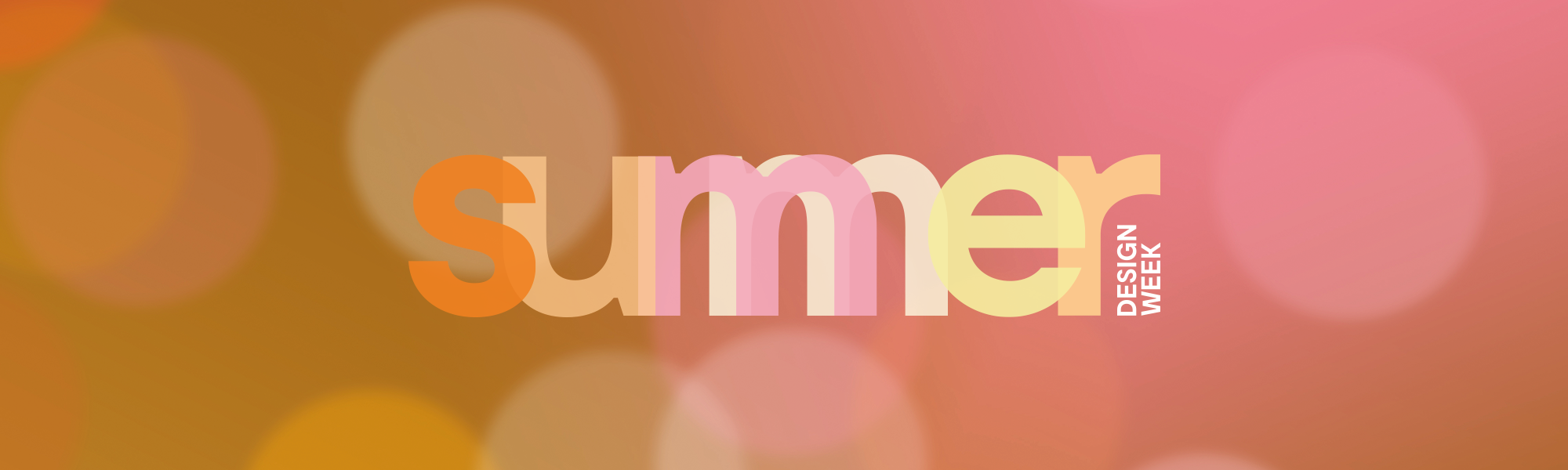 Summer Design Week 2018